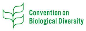 Logo de la convention sur la diversité biologique - CBD - à Montréal
