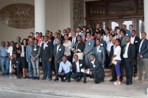 Participant-e-s au Forum régional Inspired Generations © atelier phusis